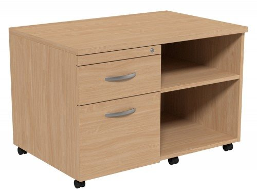Kito Underdesk Mobile Unit without Cushion BE-L in Beech