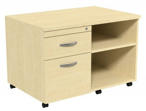 Kito Underdesk Mobile Unit without Cushion MP-L in Maple