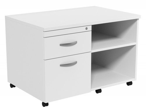 Kito Underdesk Mobile Unit without Cushion WH-L in White