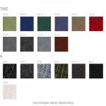 Kleiber Office Seating Fabrics Group 2 Velvetine and Panama