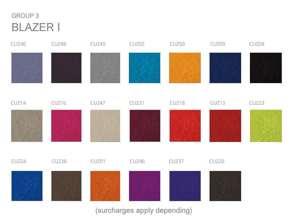 Kleiber Office Seating Fabrics Group 3 BLAZER I