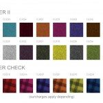 Kleiber Office Seating Fabrics Group 3 BLAZER II and BLAZER CHCKERED