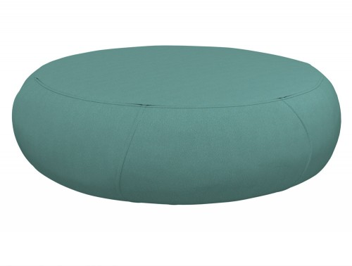 Kleiber Oops Oval Fabric Pouffe in Lush Green