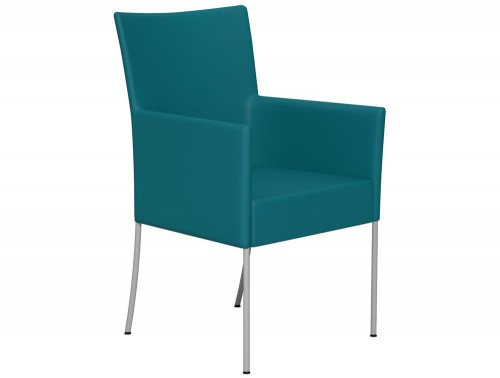 Kleiber Time Series Canteen Chair with Arms L032 Blue Standard