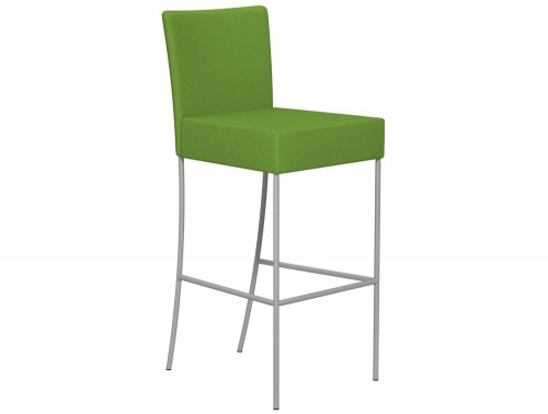Kleiber Time Series Canteen Stool with Back Support 800 mm E051 Green Standard