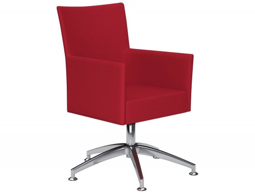 Kleiber Time Series Self Centering Meeting Chair E090 Red