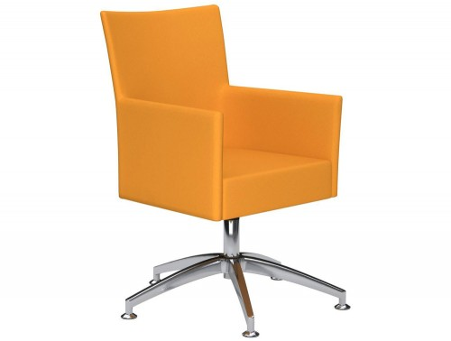 Kleiber Time Series Self Centering Meeting Chair E112 Yellow