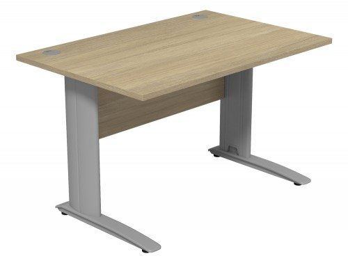 Komo Komo Straight Desk UO-SLV-1280