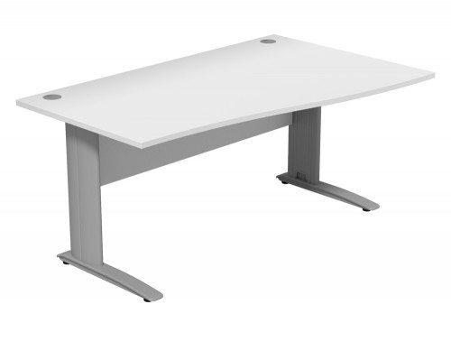 Komo Komo Wave Desk WH-SLV-R