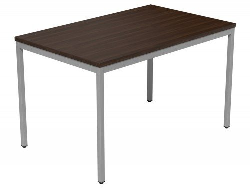 Kontrax Training Table DW-SLV-1275 in Dark Walnut