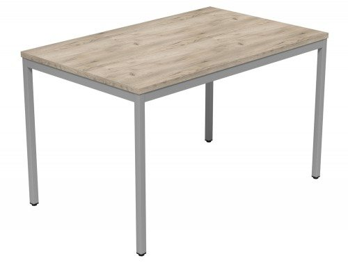 Kontrax Training Table GO-SLV-1275 in Grey Craft Oak
