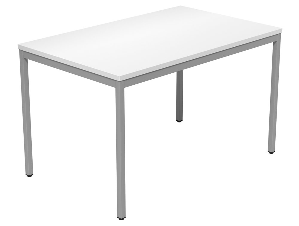 Kontrax Training Table WH SLV 1275 In White