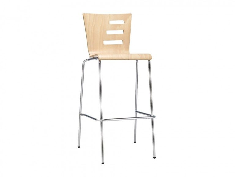 LM39BHS Groovy Stackable Stool in Beech