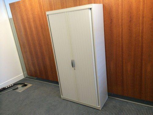 Steelcase™ Tambour door storage unit