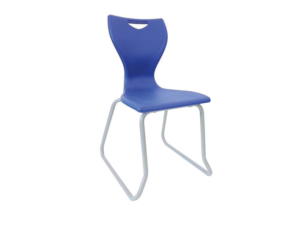 Laura Skid Base School Canteen Chair