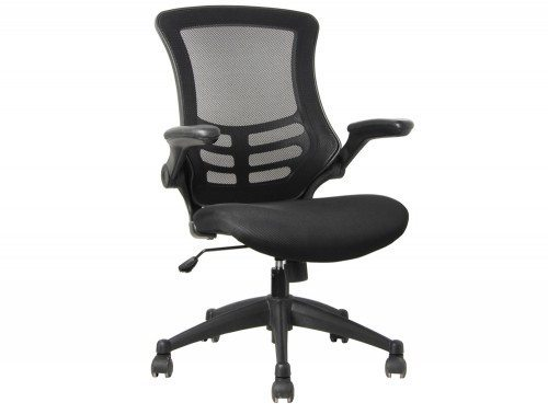 Link Mesh Chair with Black Chair