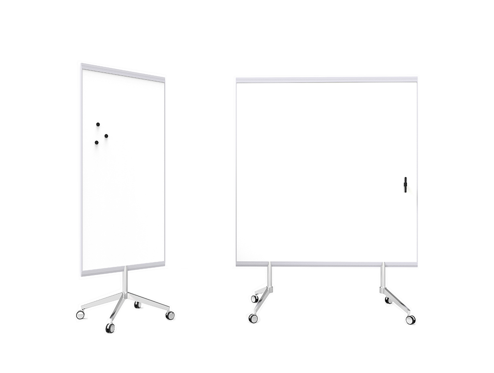 Lintex M3 Mobile Double-Sided Whiteboard for Office Boardroom Small and Large Size