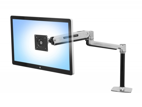 Ergotron LX sit stand desk mount LCD arm for single monitor
