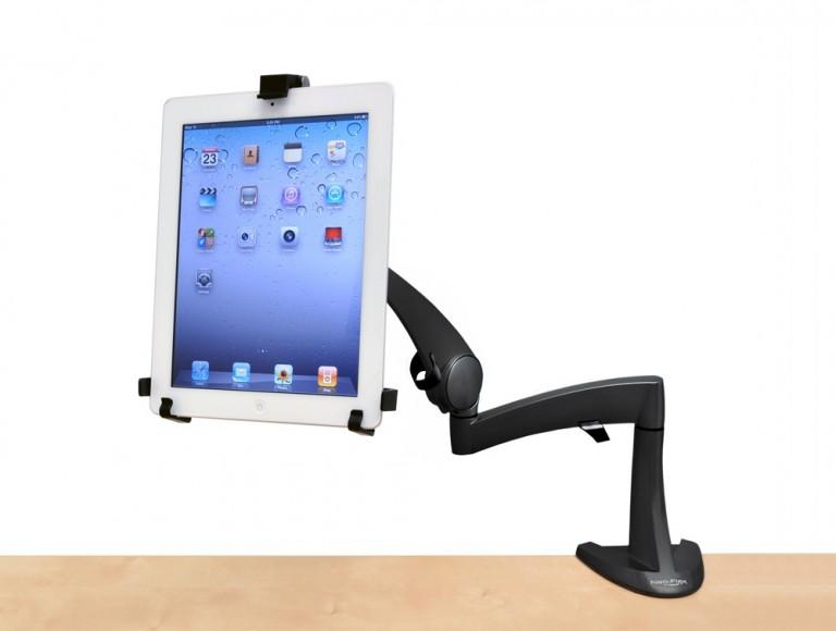Ergotron neo flex desk mount tablet arm