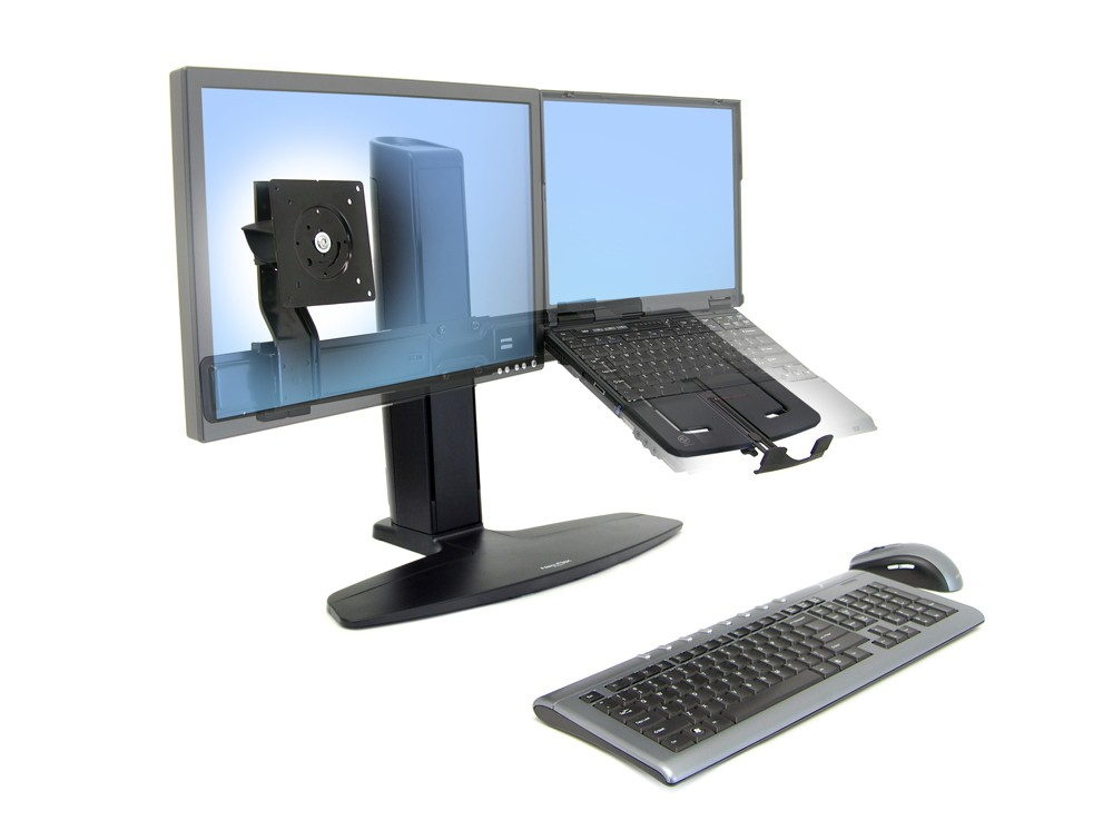 Ergotron neo flex LCD and laptop lift stand