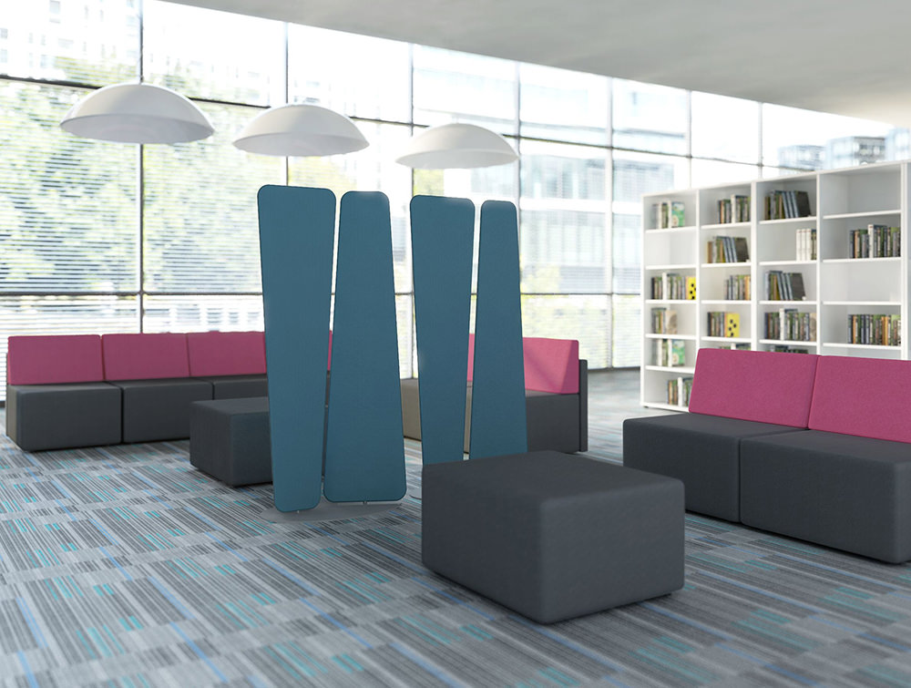 MDD-Acoustic-Freestanding-Screens-in-Seating-Area