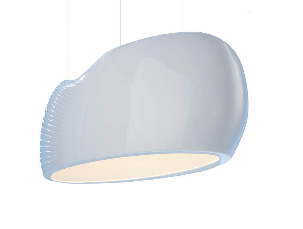 Canoe Ceiling Light for Office Reception and Meeting Rooms
