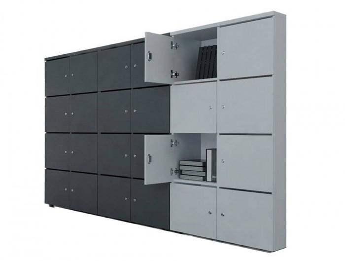 MDD-Modular-Multiple-Lockers-in-Black-and-Grey