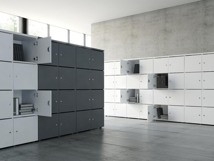 MDD-Modular-Multiple-Lockers-in-Grey-and-White