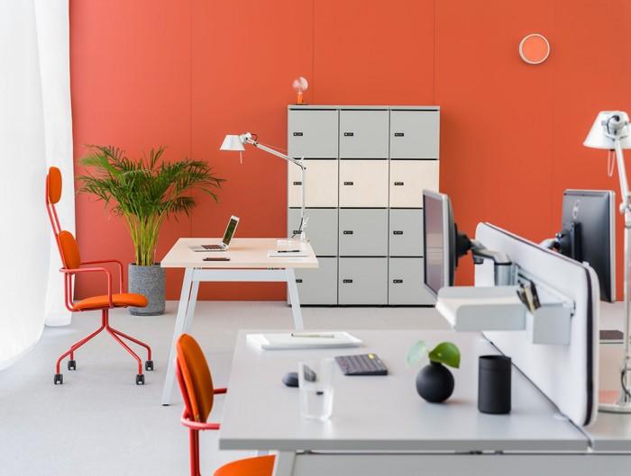 MDD-Modular-Multiple-Lockers-in-Orange-Themed-Office