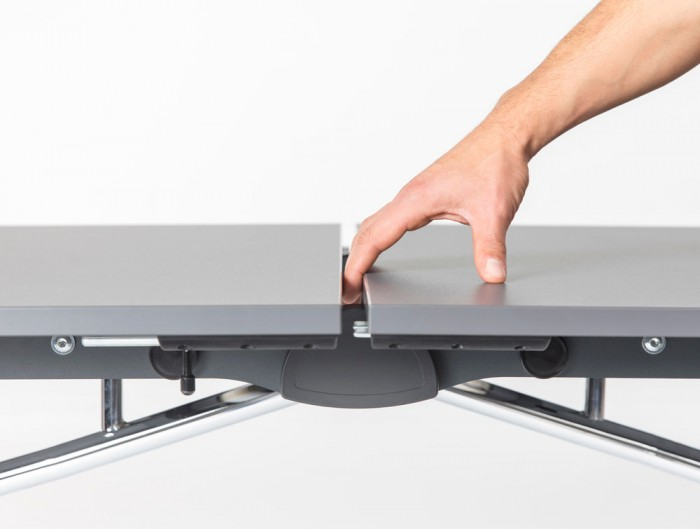 Mara Argo Libro Folding Rectangular Table with Antishock System Hands Safe