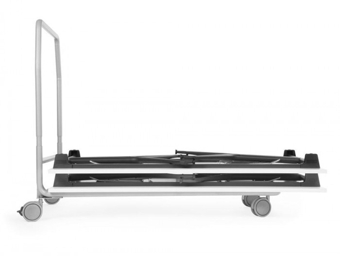 Mara Argo Rectangular Folding Legs Workstation Desk Stackable Trolley