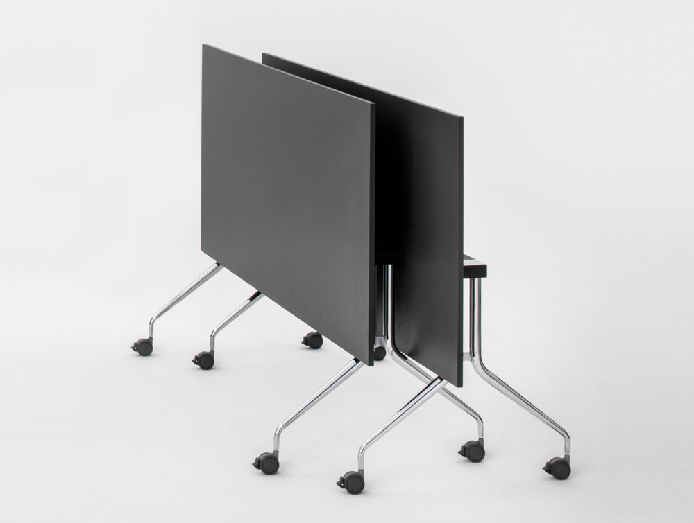 Mara Argo Tilting Rectangular Meeting and Boardroom Table Stackable