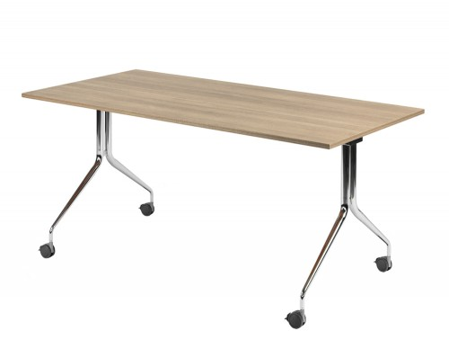 Mara Argo Tilting Rectangular Meeting and Boardroom Table with Castors