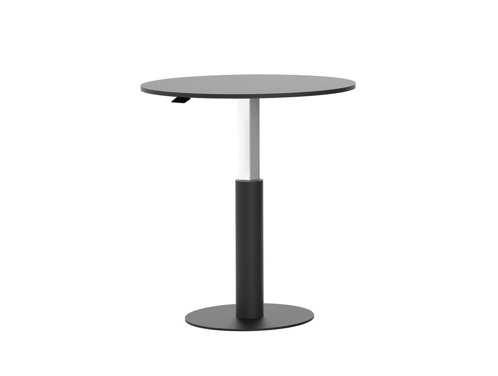 Mara Follow Height Adjustable Round Breakout Table