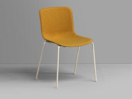 Milos 4-Leg Comfortable Office Chair 2 in Mustard.jpg