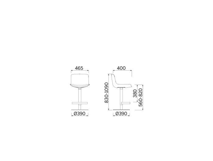 Milos Stool Adjustable in Height Cafeteria Chair 3 Dimensions.jpg