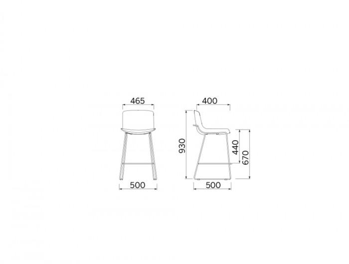 Milos Stool H 670 Cafeteria Chair 3 Dimensions.jpg