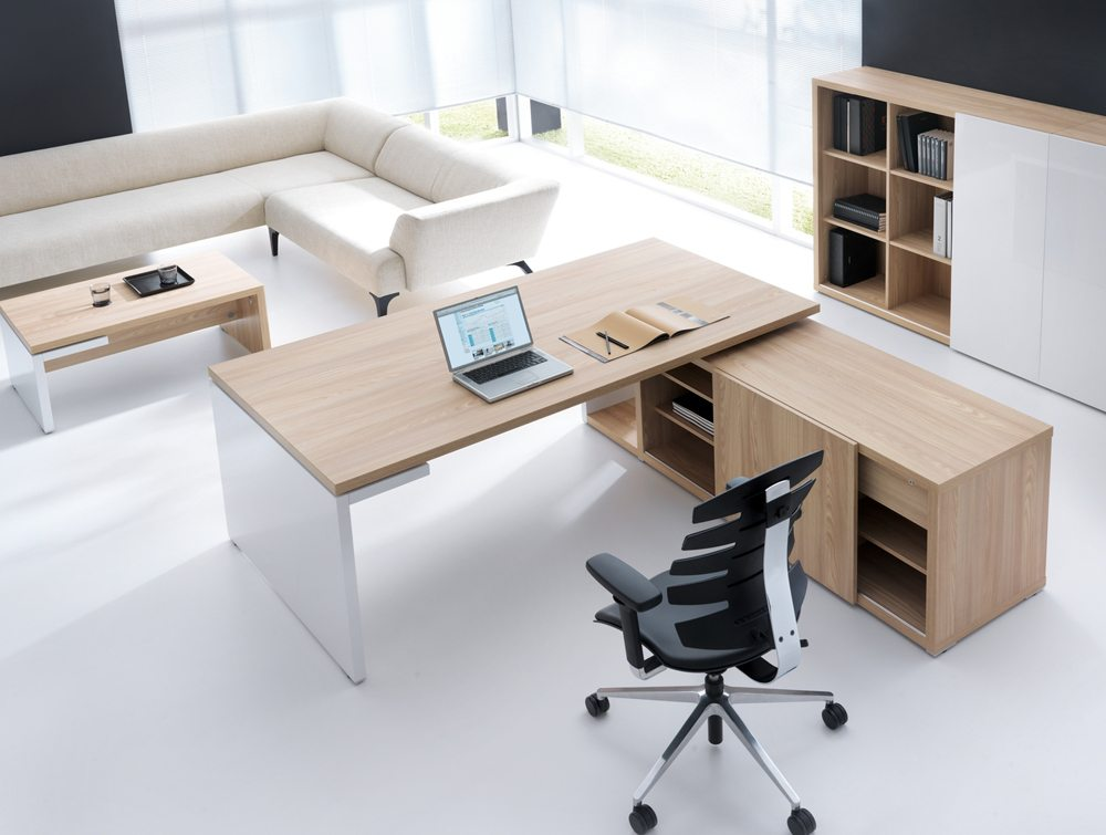 Mito executive desk view from above