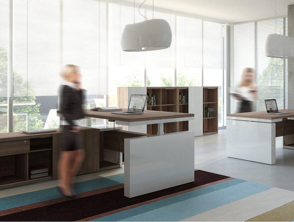 Mito executive desk adjusted