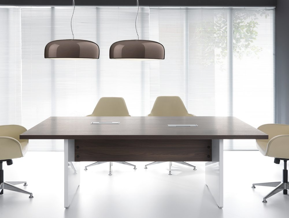 Mito executive desk meeting room front angle