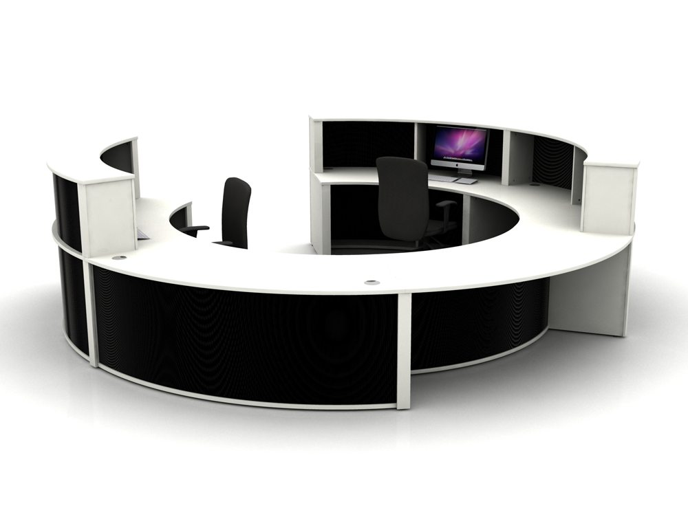 Mobili Reception Configuration 4 in Black