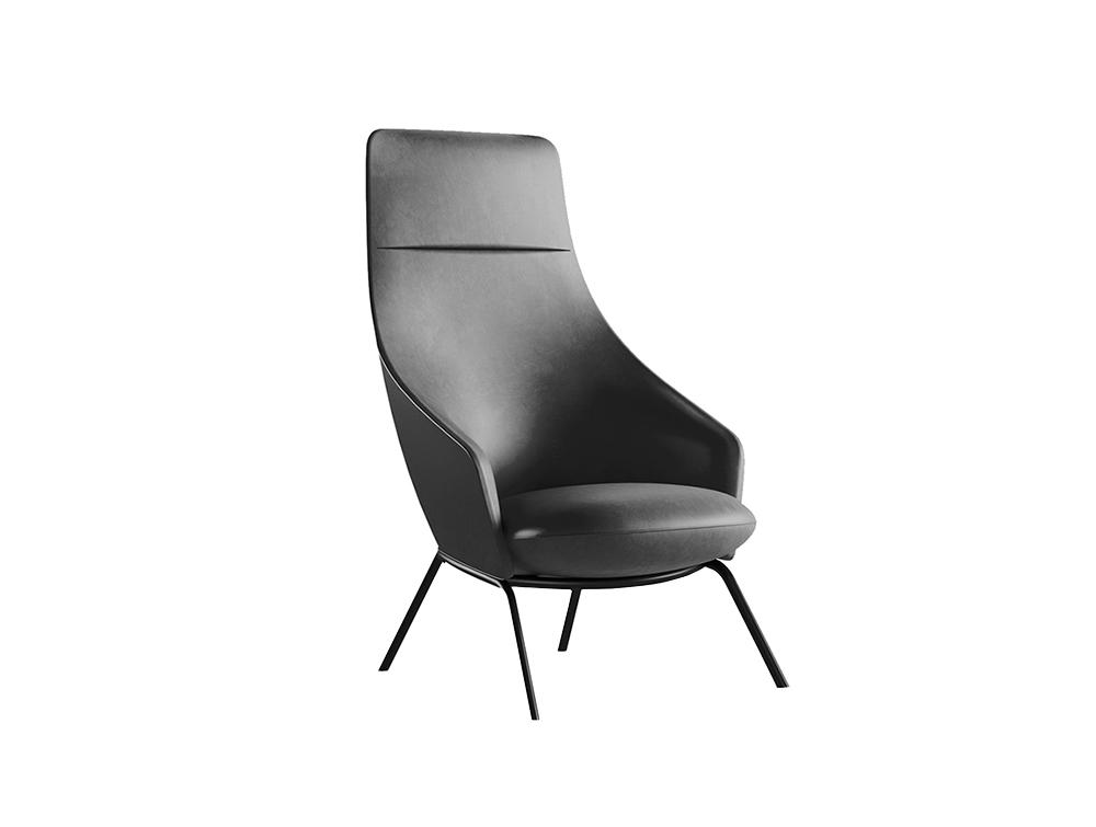 Montecarlo High-Back Office Armchair