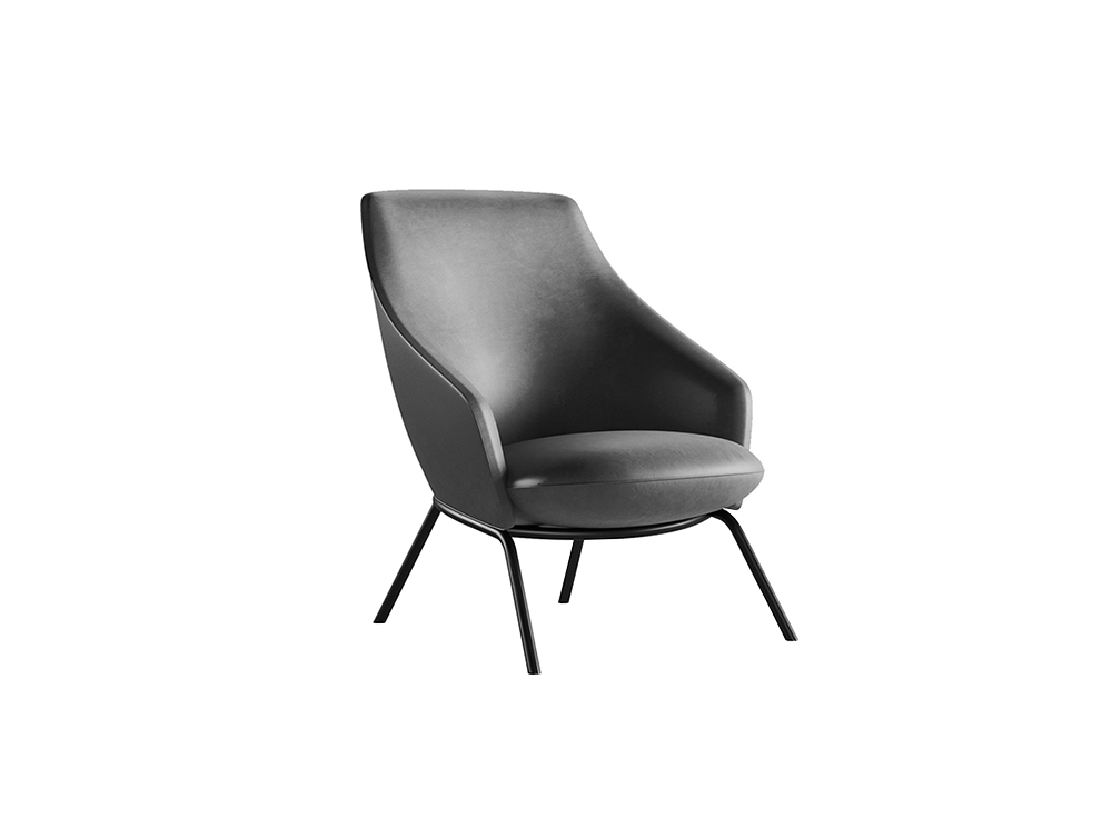 Montecarlo Low-Back Office Armchair