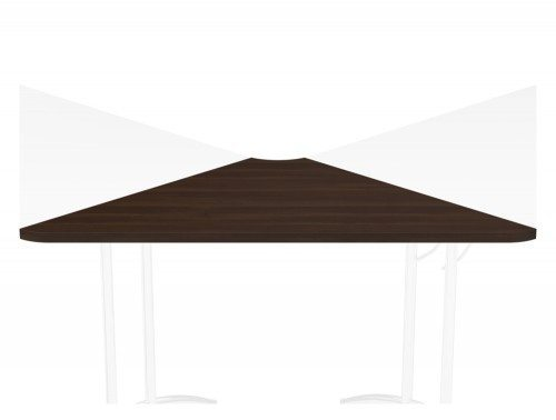 Morph Fold 90 Degree Corner Link DW in Dark Walnut