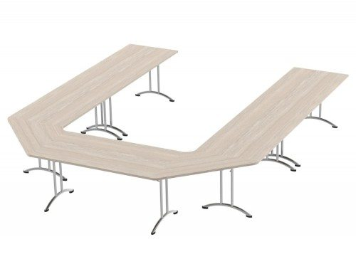 Morph Meeting Configuration U Shape in Arctic Oak