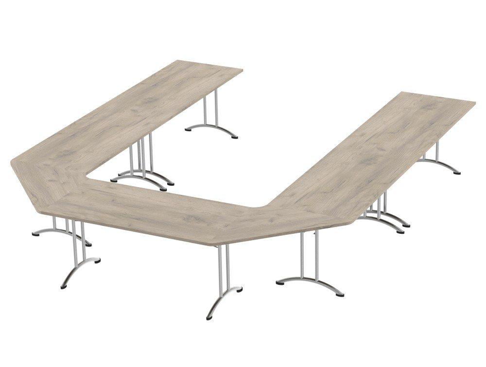 Morph Meeting Configuration in Grey Craft Oak