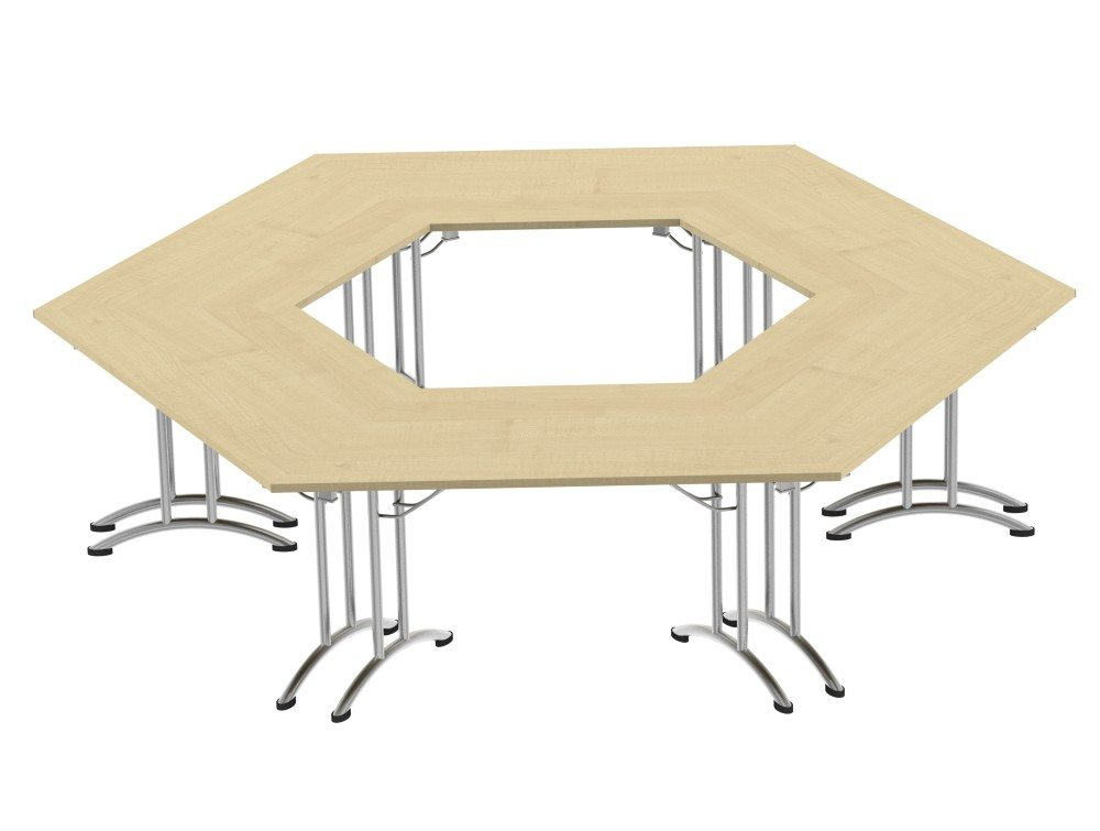 Morph Meeting Configuration Hexagon Shaped in Maple