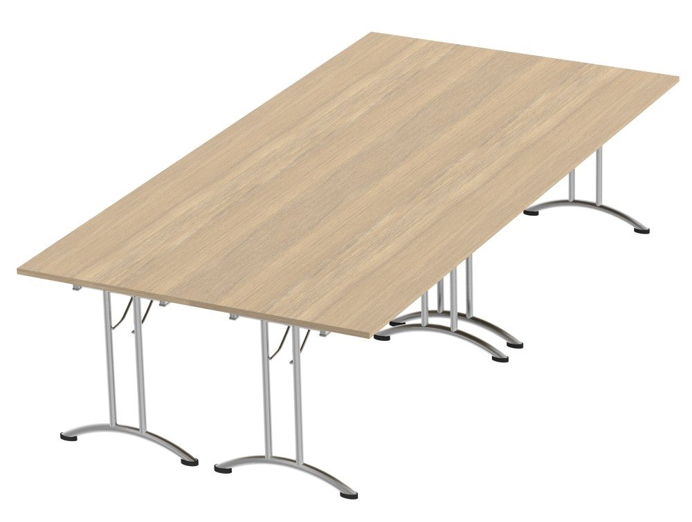 Morph Meeting Configuration Rectangular in Urban Oak