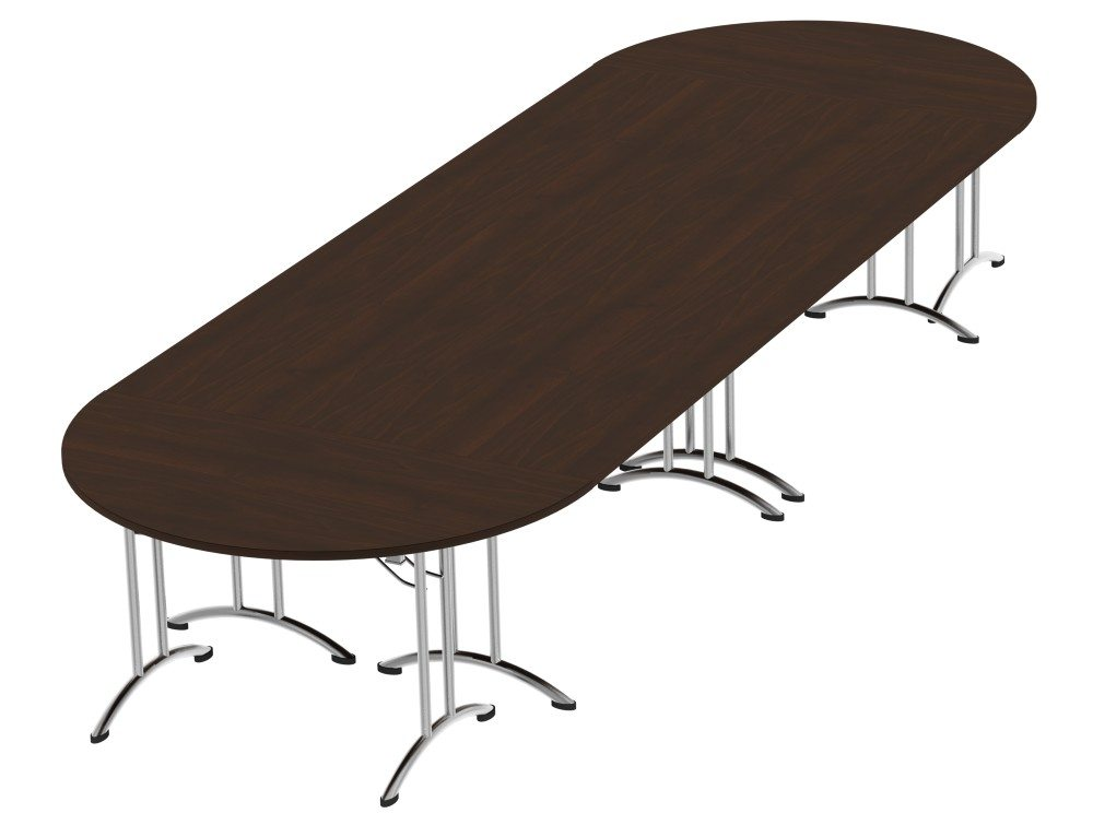 Morph Meeting Configuration 06 D-end-in Dark Walnut
