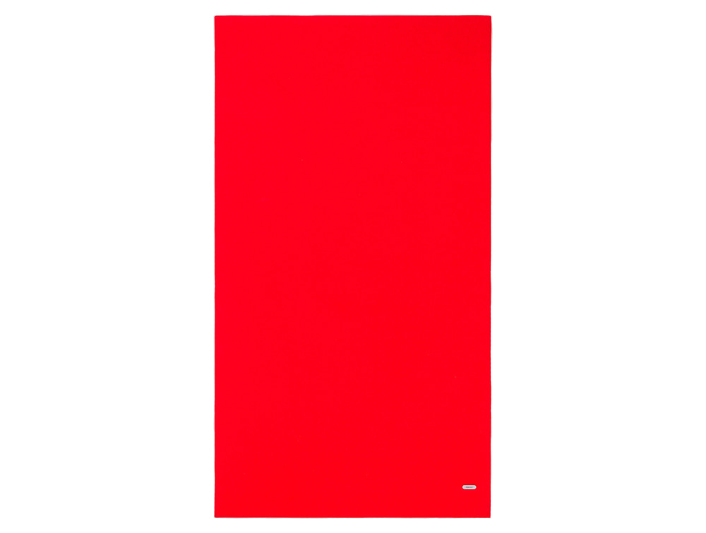 Mute Design Canvas Wall Mounted Acoustic Panel in Red